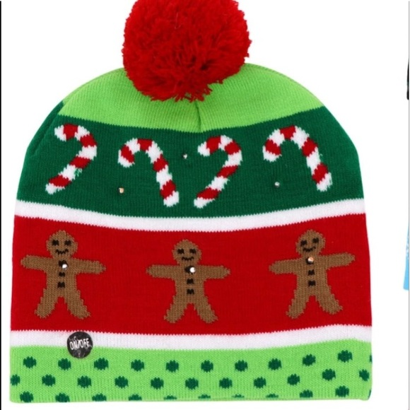 led light up christmas hat